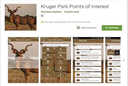 Kruger Park Point of Interest