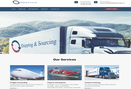 Shipping And Sourcing